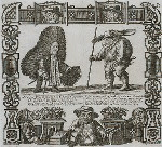 Monsieur Perrukesmore, a French cavalier and Penitent Pig-Back, a Catalonian pilgrim