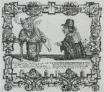 Mynheer Bacon-Face, captain of an East-India man, and Don Diego de los Nafos, a Spanish factor