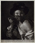 Proof, Rembrant [Man smoking pipe]