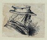 [caricature of a man smok
