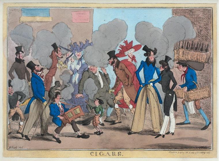 Cigarros. Imagen: Biblioteca Pública de Nueva York, colección digital