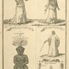 Dress of the Grandees; King's wives of Whidah; King's favourite; Agoye, God of Councils