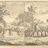 Hottentot corn - threshing. ; Hottentot marriage