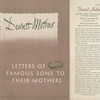 Dearest mother; letters from famous sons to their mothers.