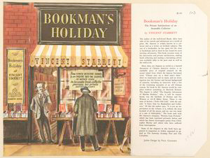 Bookman's holiday.