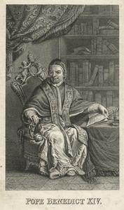 Portrait of Pope Benedict XIV