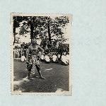 Wayang Wong, Kraton Yogyakarta, 1930s. Male dancer