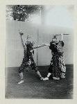 Java - Wayang Wong, Kraton Yogyakarta, 1930s : Rama Nitik. Battle of Sugriwa and Keswamuka