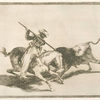 El animoso moro Gazul es el primero que lanceó toros en regla.