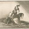 Carlos V. lanceando un toro en la plaza de Valladolid.