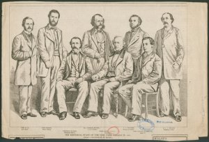 The editorial staff of the New... Digital ID: 1109481. New York Public Library