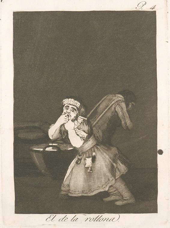 This is What Francisco Goya and El de la rollona Looked Like  in 1799