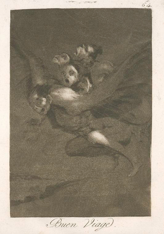 This is What Francisco Goya and Buen viage Looked Like  in 1799