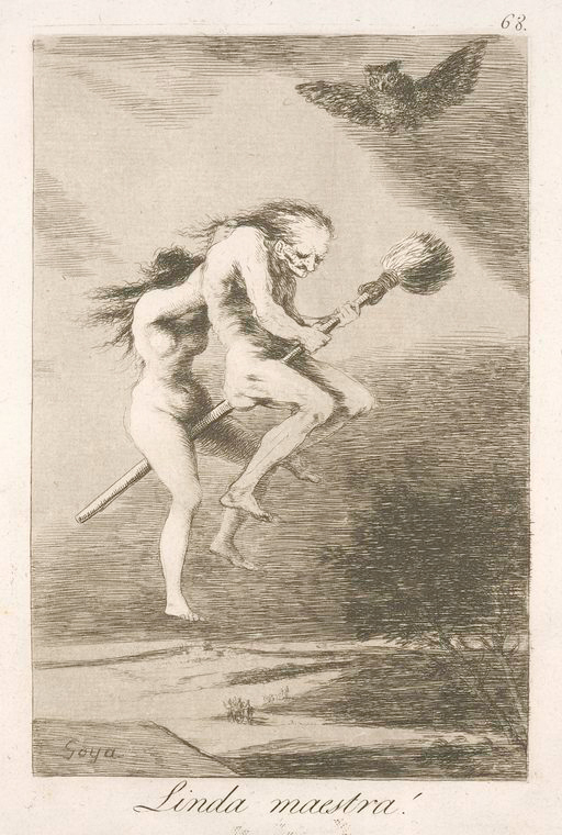 This is What Francisco Goya and Linda maestra! Looked Like  in 1799