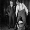Arthur Byron (Nordson), John Williams (Anton Schuh) and Donald MacMillan (Kaldoorian, the English tailor).