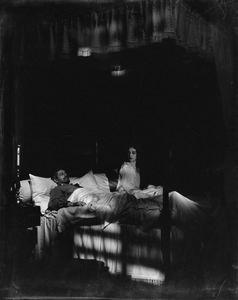Alla Nazimova (Christine) and Lee Baker (Brig.-Gen. Mannon).