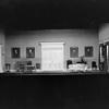 Sitting Room in Mannon's mansion. Settings by Robert Edmond Jones.
