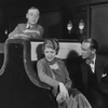 L to R: Grant Mills (as Jerry Hyland), Jean Dixon (as May Daniels) and Hugh O'Connell (as George Lewis).