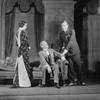 Lynn Fontanne as Ann Carr, Edward Emery (seated) as Dr. Avery and Alfred Lunt as Raphael Lord.