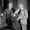 L to R: Alfred Lunt as Raphael Lord, Lynn Fontanne as Ann Carr and Edward Emery as Dr. Avery.