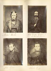 Michael Burke ; P.J. Condon, Captain in the American Service ; John Lyons ; Charles Hogg.