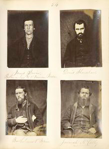 James Irwin, Brother-in-law to O'Donovan Rossa ; Denis Shanahan ; Bartholomew O'Brien ; Jeremiah McCarthy.