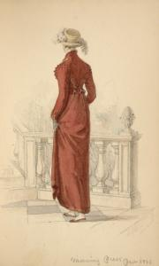 [Morning dress, December 1813.]