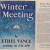 Winter Meeting.