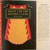 Quest for the golden cloak.