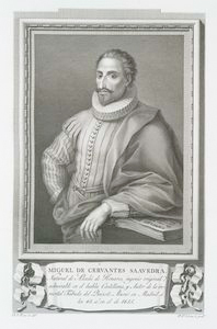 Miguel de Cervantes Saavedra. Digital ID: 1111956. New York Public Library