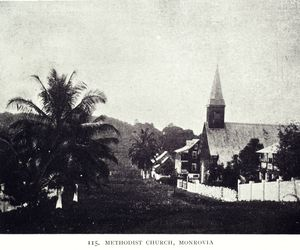 Methodist church, Monrovia.