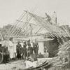 Roof framework of Vai house (oblong shape).