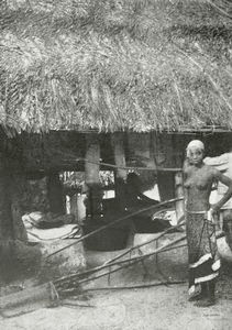 A native kitchen in a Gora village.