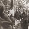 "Dance of the ""Femba"": women shaking rattles."