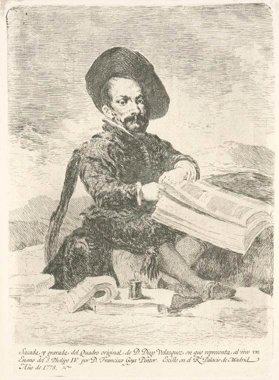 Fascinating Historical Picture of Diego Vel?zquez in 1778