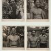 Java - People, landscape. Javanese men.]