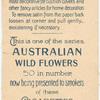 Bursaria spinosa (Native Box).