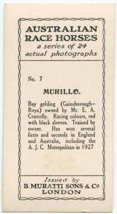 Murillo. Trained by owner, Mr. E.A. Connolly.
