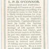 L. O'Connor (Queensland & Australia).