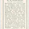 W.A. Oldfield (N.S.W. & Australia).