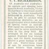 V.Y. Richardson (S. Australia & Australia).