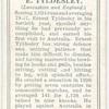 E.Tyldesley (Lancashire & England).