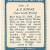 A.F. Kippax.