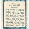 H.I. Ebeling.