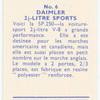 Daimler 2 1/2-litre sports.