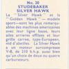 Studebaker Silver Hawk.