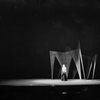 Julia Arthur as Lady Macbeth. Set designed by Robert Edmond Jones.