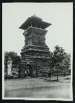 Kudus. Minaret of old mos