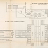 Plan of tunnel at street stations; section of tunnel at street station.