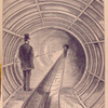 Broadway underground railway - the experimental section.